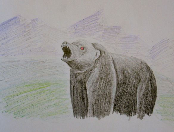 The robot bear