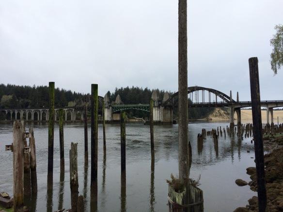 Bridge in coastal Oregon